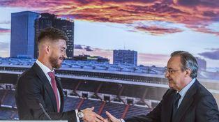 Sergio Ramos, renovación triunfal que deja daños colaterales y a Florentino herido