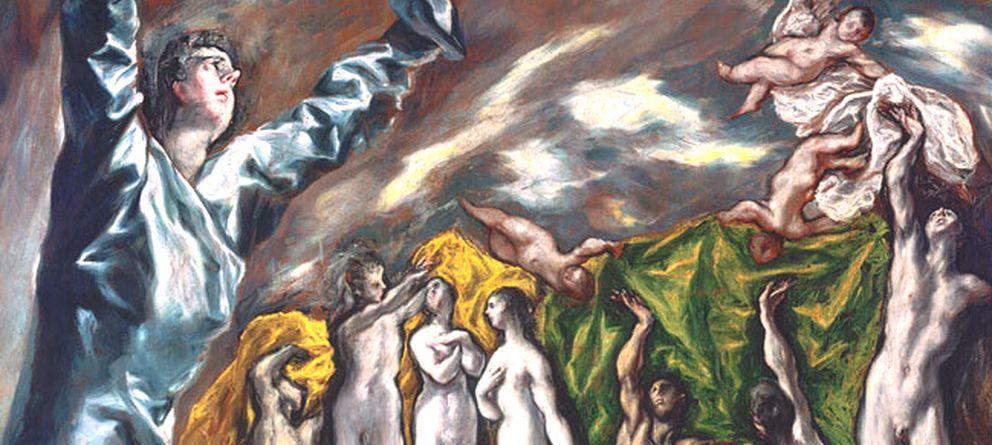Foto: 'La visión de san Juan', del Greco, 1608 - 1622. (Museo del Prado)