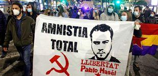 Post de Si Pablo Hasél fuera ultraderechista...