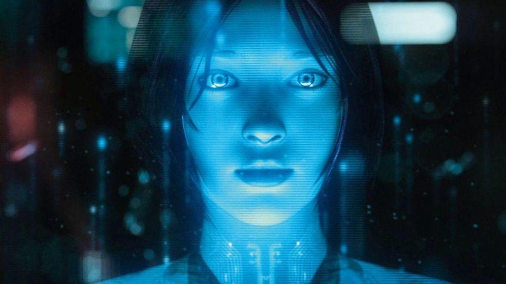 Foto: Cortana, otro ejemplo de la IA de Microsoft