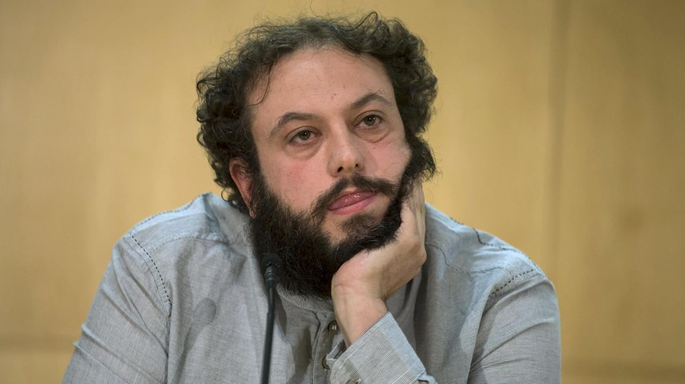 Foto: Guillermo Zapata, el hasta ayer concejal de Cultura de Madrid. (Reuters)