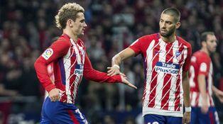 Los problemas del Atlético: Griezmann y Carrasco se cansan de correr para Simeone