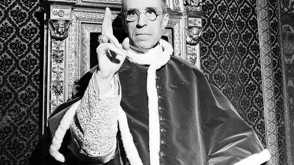 Foto: Pío XII fotografiado en 1945.