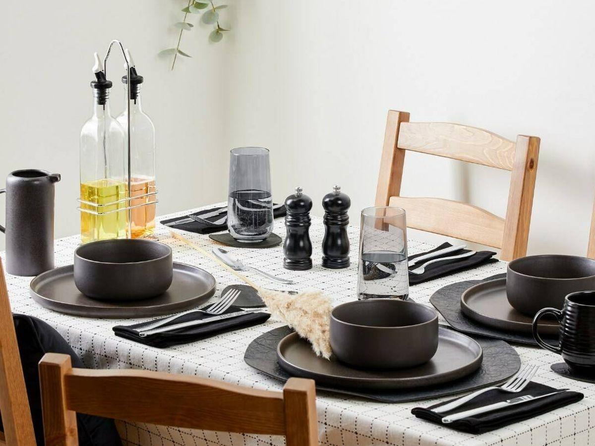 Foto: Primark Home nos enamora con sus propuestas para decorar la mesa. (Cortesía)