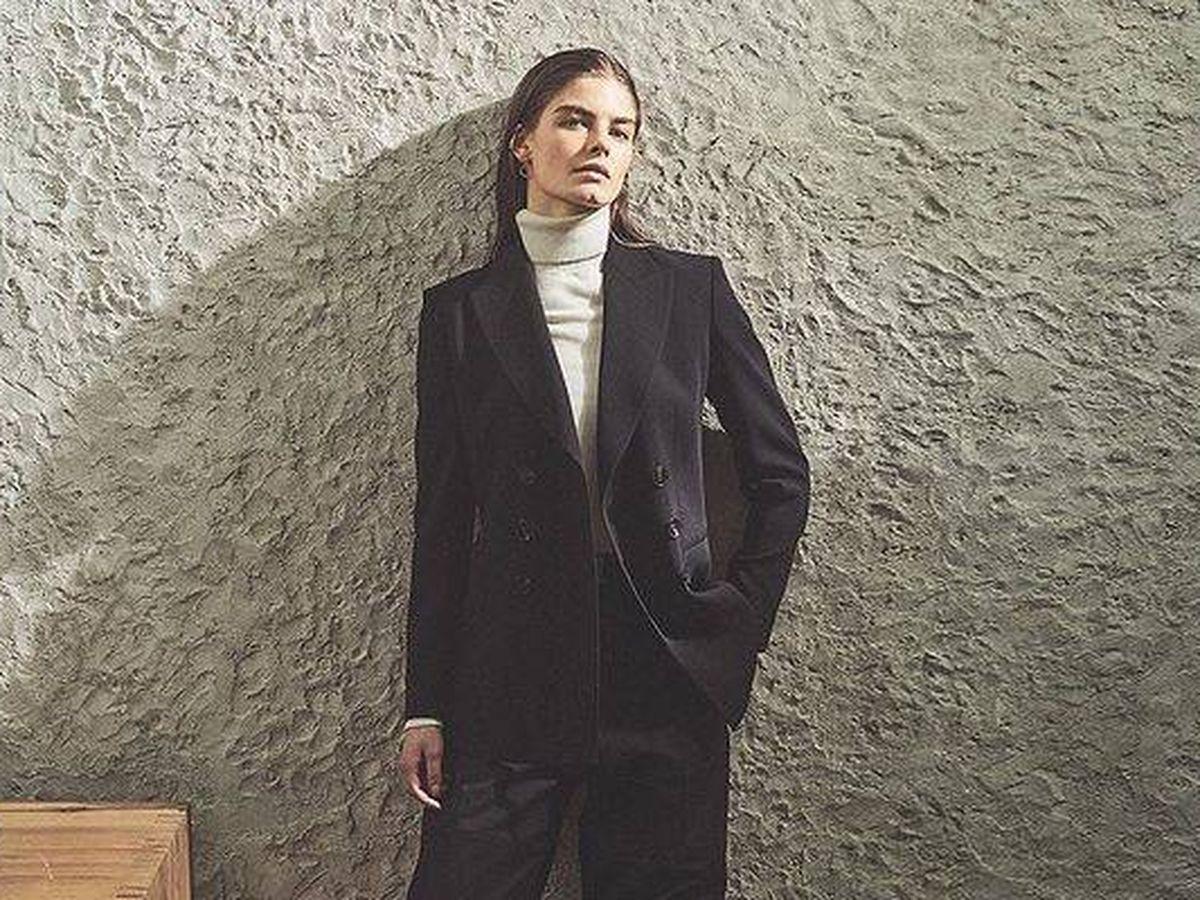 Foto: Jersey de lana y seda de cuello alto de Massimo Dutti. (Cortesía)