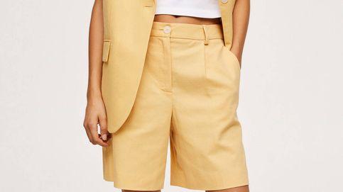 En dos colores y con chaleco a juego: así son las bermudas de Mango para ir al trabajo