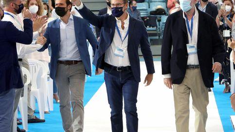 El PP exhibe su músculo en Galicia y logra la foto de la unidad en torno a Casado