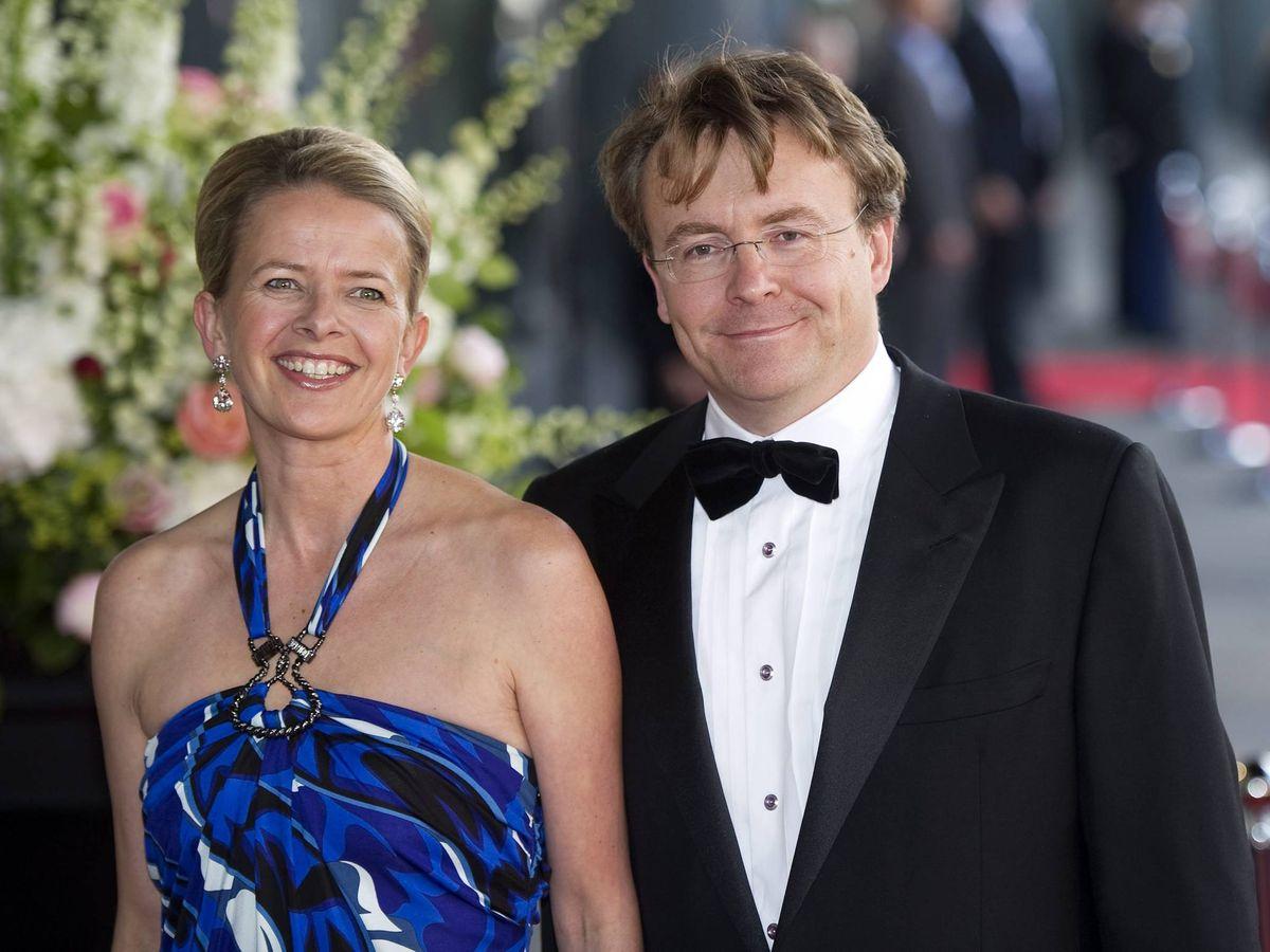 Foto: Mabel y Friso de Holanda en 2011. (Cordon Press)