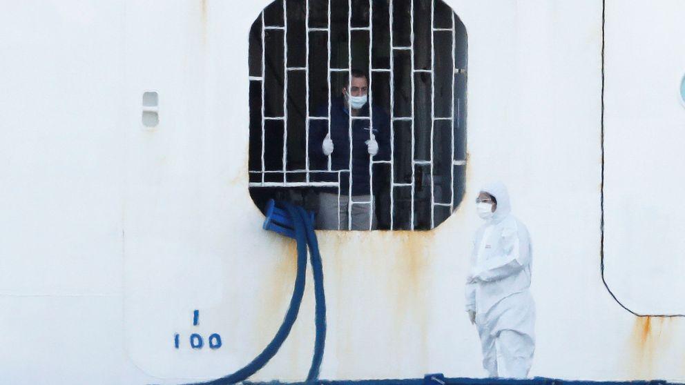 Suben a 130 los contagios de coronavirus en el crucero japonés en cuarentena