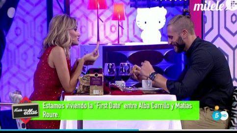 Alba Carrillo intenta olvidar a Feliciano con el coctelero de 'First dates'