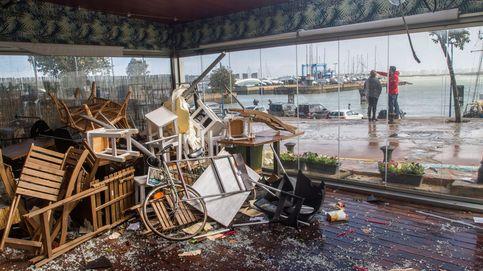 Así ha quedado Cádiz tras el tornado de este domingo