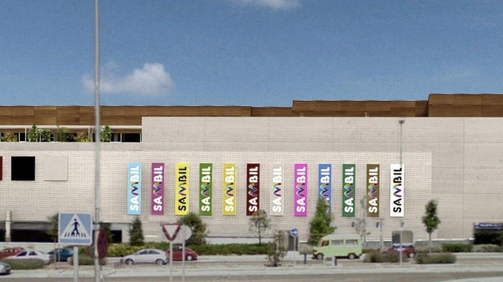 Foto: Imagen de la fachada Este del centro comercial Sambil (EFE)