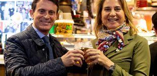 Post de Manuel Valls y Susana Gallardo: su