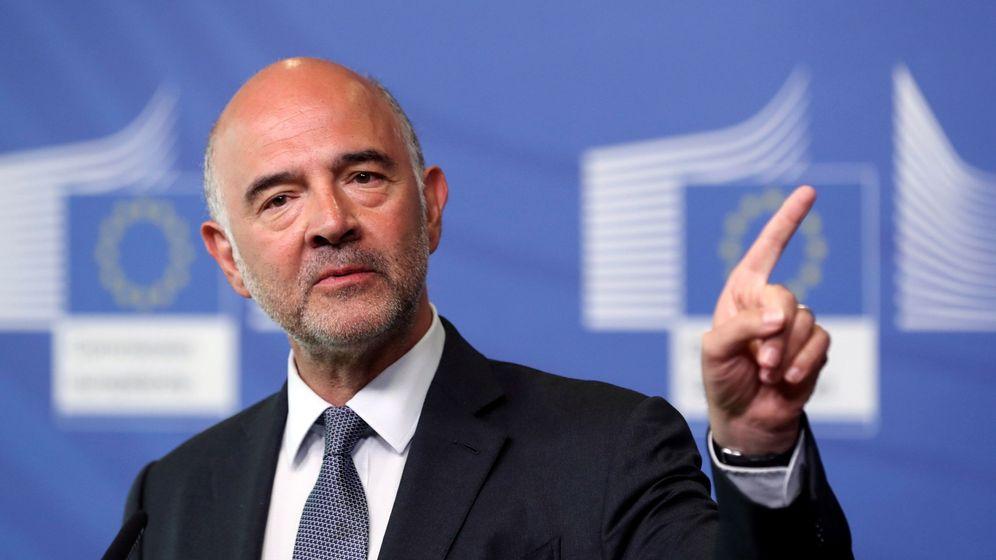 Foto: Pierre Moscovici, encargado de vigilar que los países no se desfasen con sus presupuestos. (EFE)