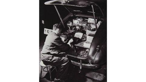Weegee: la leyenda del fotógrafo del crimen se da cita en Barcelona