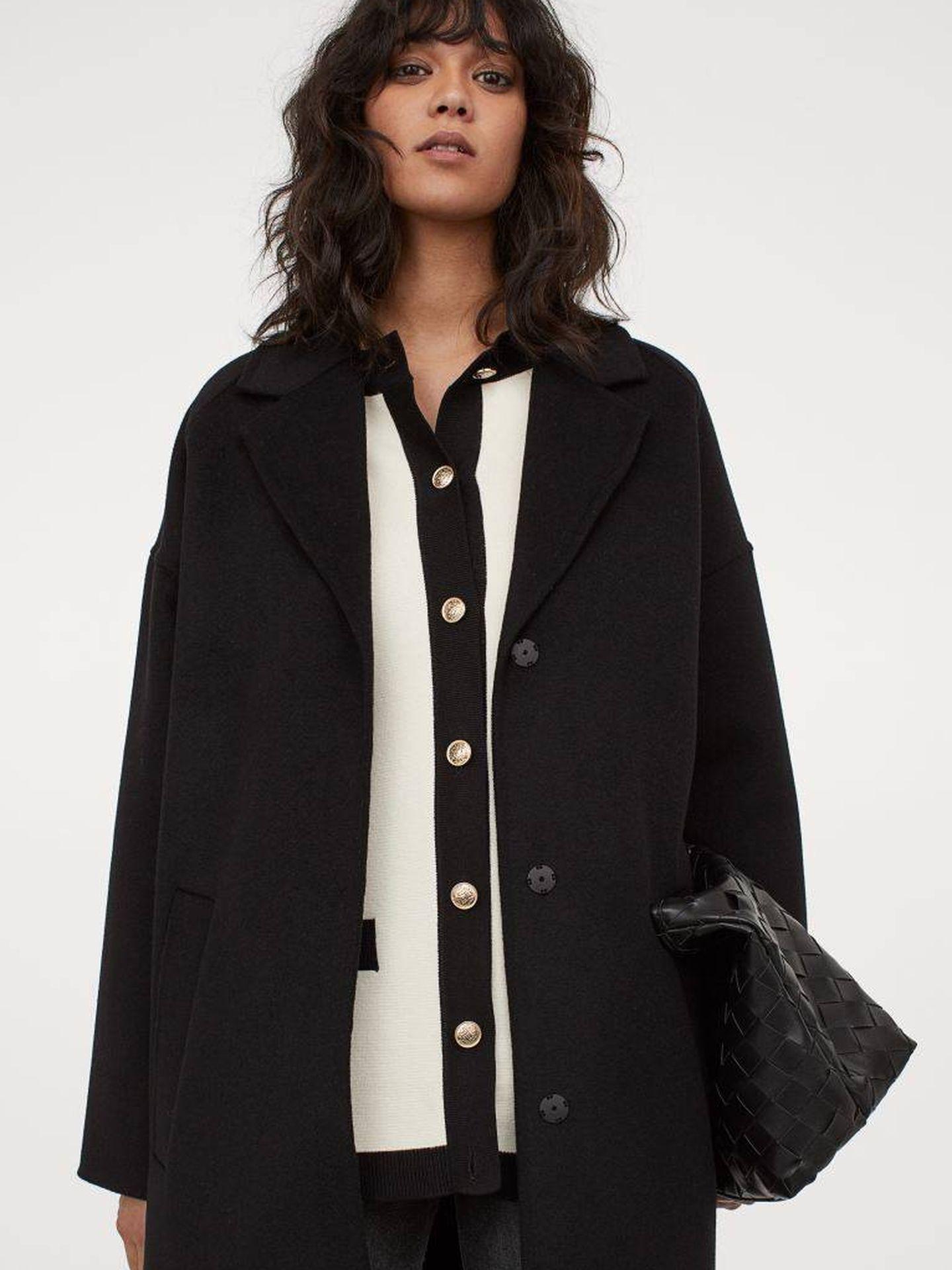 La chaqueta de punto de HyM. (Cortesía)