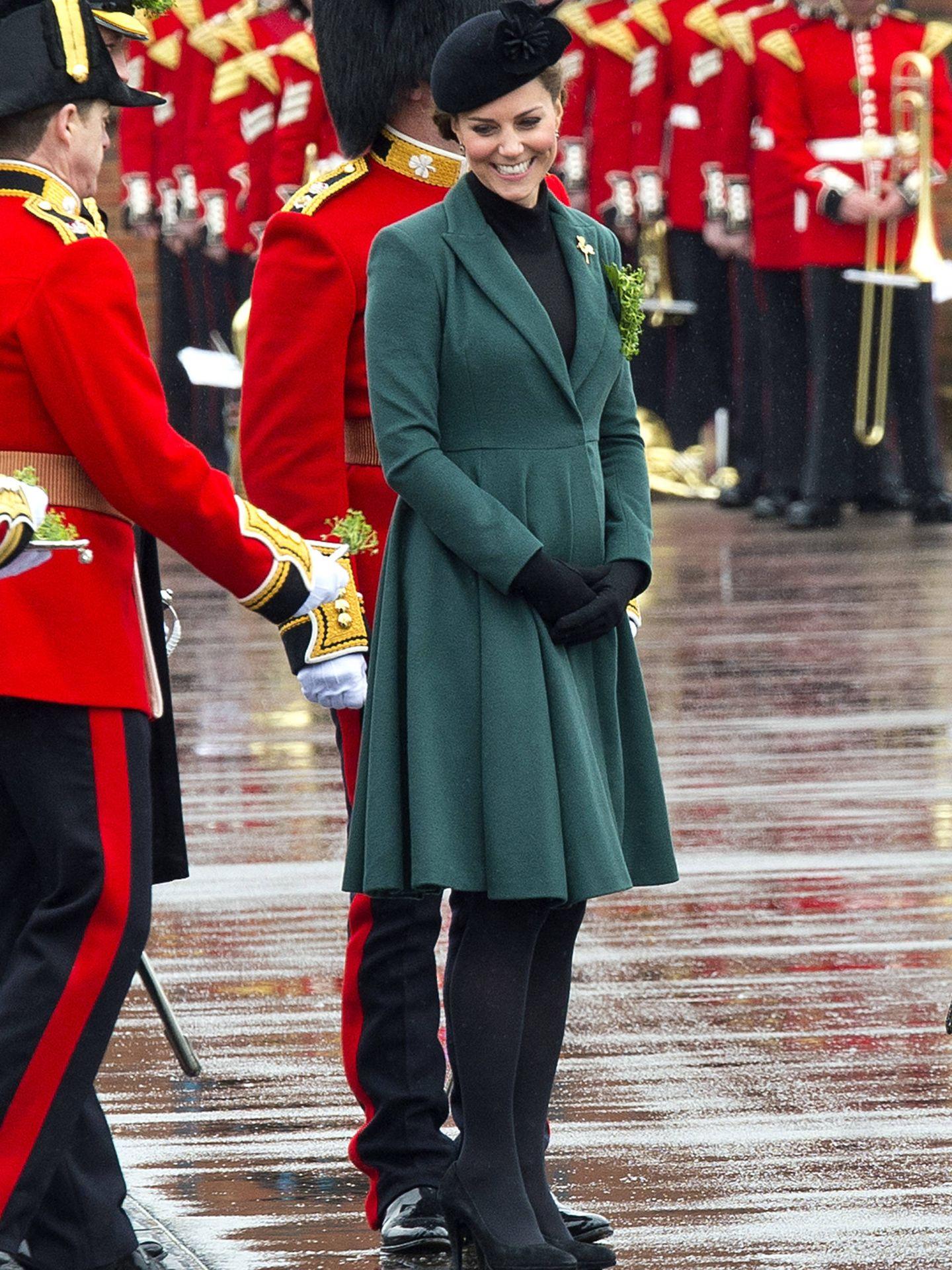 La duquesa en el Día de San Patricio. (Getty)