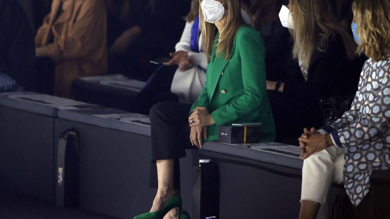 Begoña Gómez, con look a lo Zendaya, cumple con su cita con la moda española