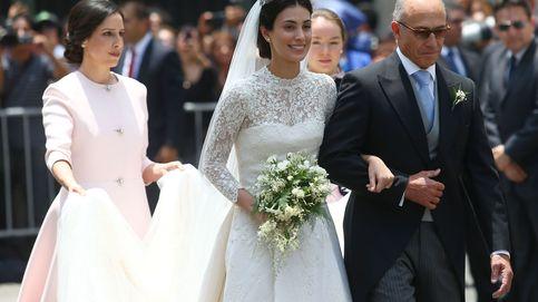 El vestido, la tiara, las joyas... Los detalles del look nupcial de Sassa de Osma