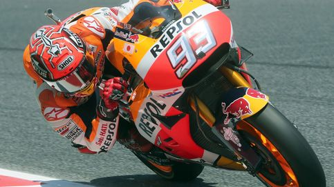 Márquez, 'pole' en Montmeló con medio segundo de ventaja sobre Lorenzo