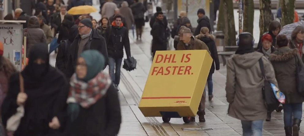 Foto: Una maquiavélica idea de DHL deja en ridículo a su competencia