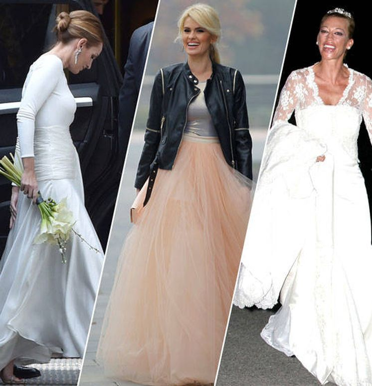 vestido novia: aprueba o suspende los siguientes vestidos de novia
