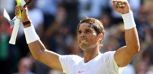 Post de La exitosa receta de Nadal que le hace caminar con paso firme por Wimbledon