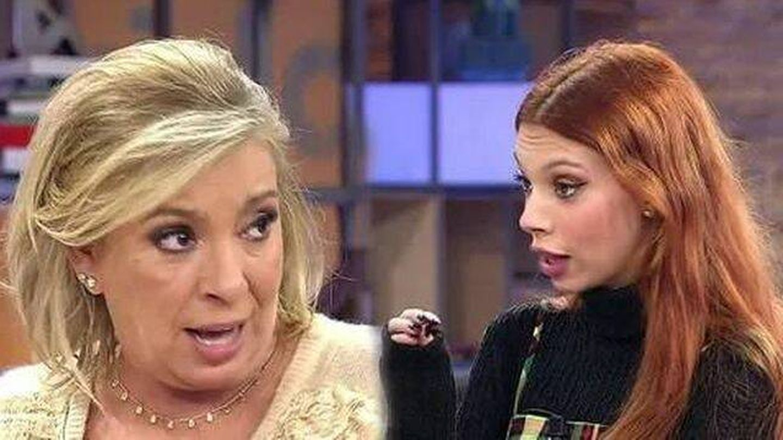 Carmen Borrego y Alejandra Rubio, en 'Viva la vida'. (Telecinco).