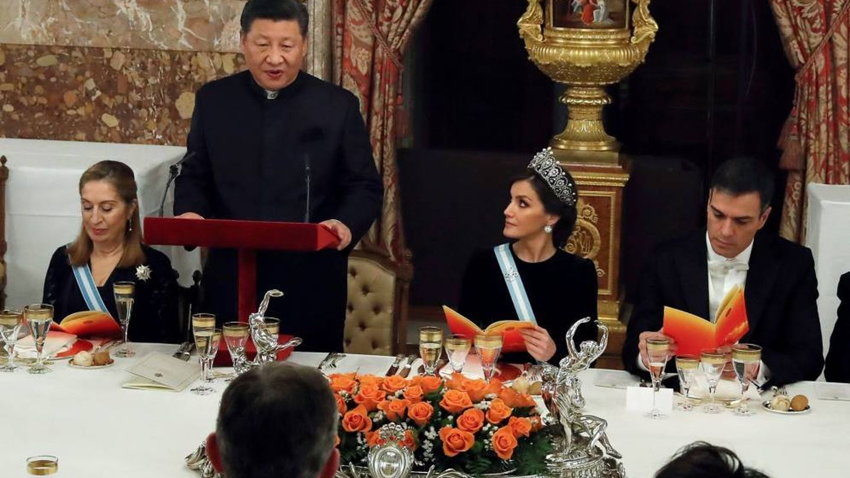 El acuerdo se cerró durante la última visita de Jingping a España. (EFE)