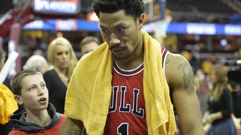 Enésima lesión de Derrick Rose: sufre fractura orbital en un entrenamiento