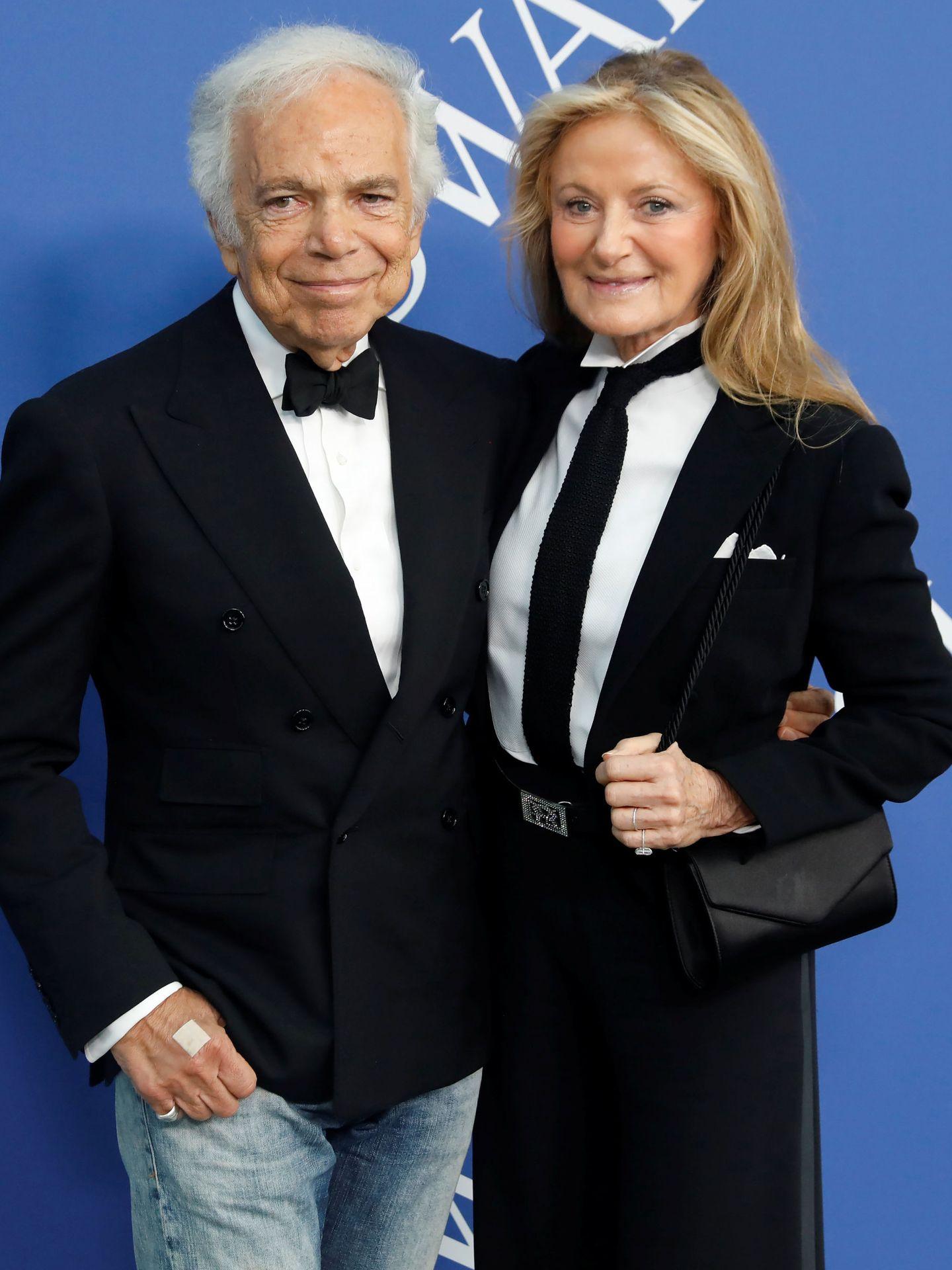 Ralph Lauren y su mujer, Ricky Anne Loew-Beer (Reuters)