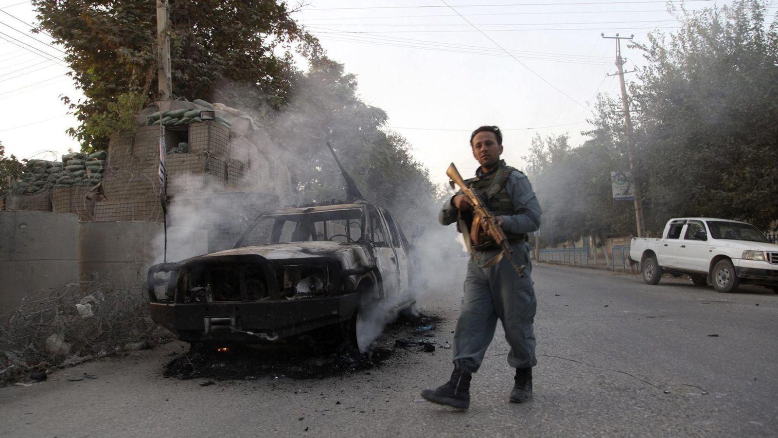 Foto: Las tropas afganas recuperan el control de Kunduz (EFE)