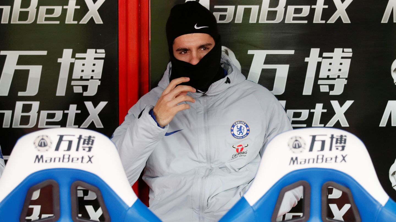 Conte y Sarri empezaron confiando en Morata, pero terminaron enviándolo el banquillo. (Reuters)