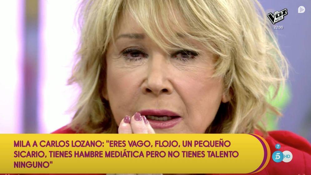 Foto: Mila Ximénez en 'Sálvame'. (Telecinco)