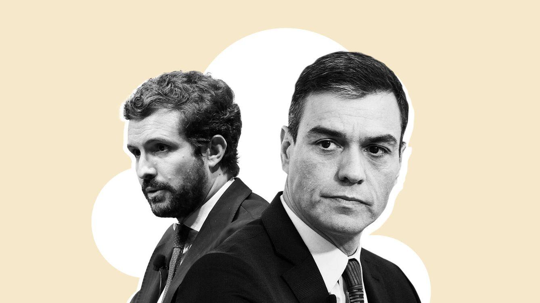 Volver al bipartidismo: el objetivo común de Sánchez y Casado para el nuevo ciclo político