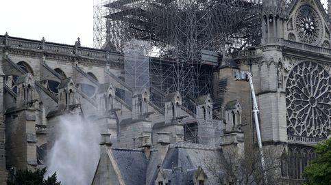 El incendio en la catedral de Notre-Dame de París, en imágenes
