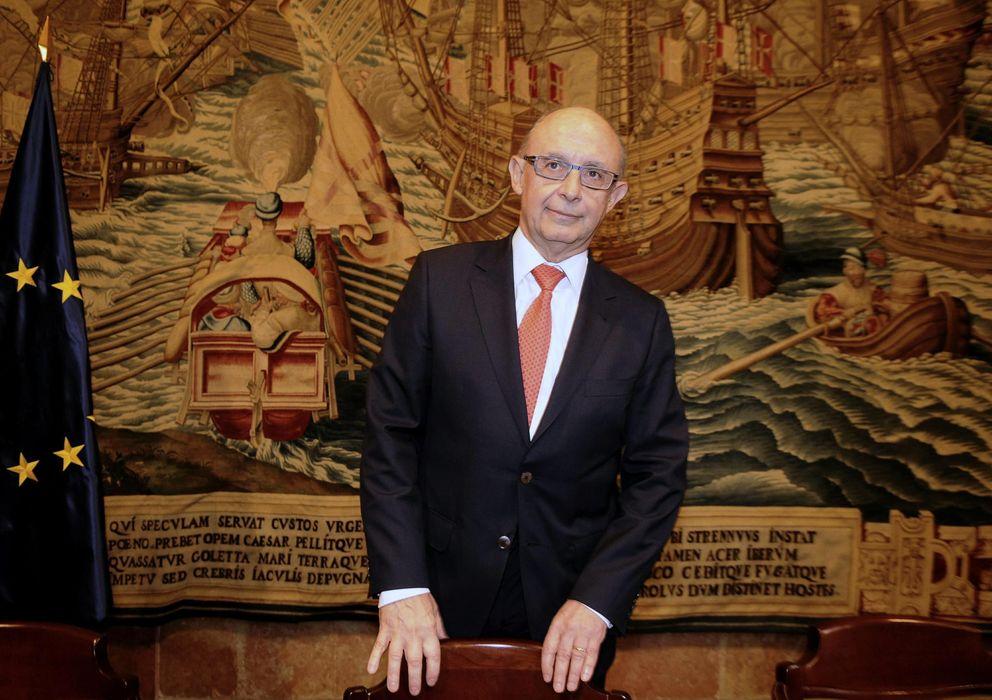 Foto: Cristóbal Montoro, ministro de Hacienda
