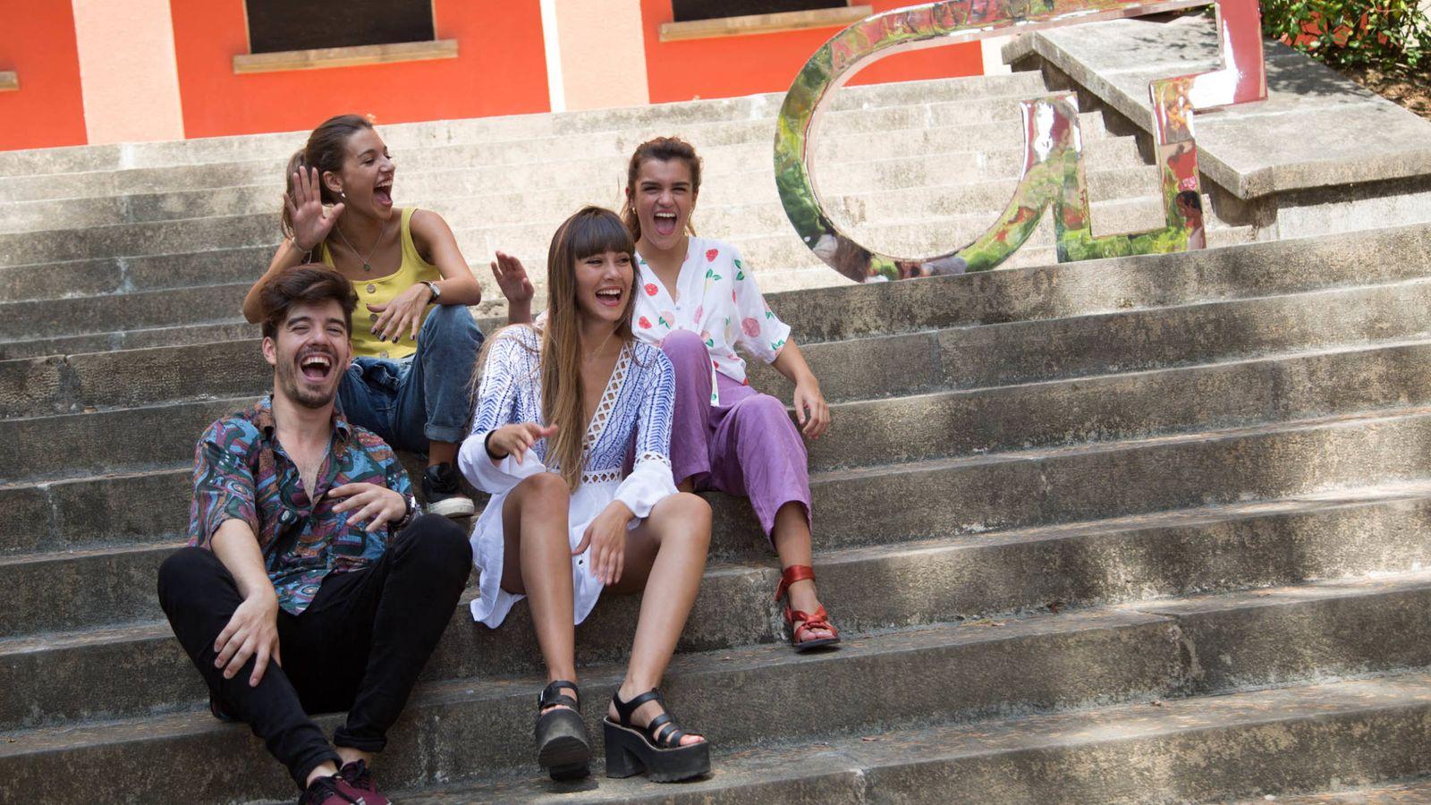 Foto: Roi, Ana Guerra, Aitana y Amaia, en el casting final de 'OT 2018'. (Carmen Carrázquez - RTVE)