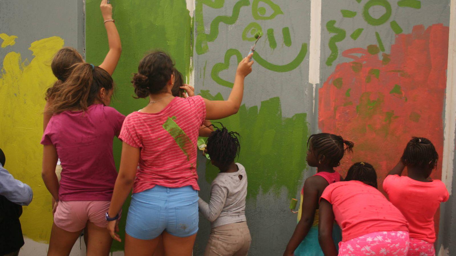 Los niños pintan mucho, una iniciativa para que los menores ...