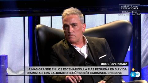 Kiko, tras ver a Rocío Carrasco: Me alegro de no ser amigo de Antonio David