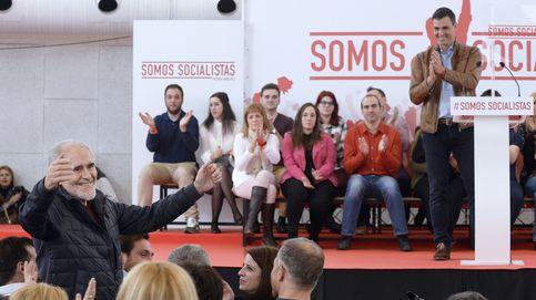Pedro Sánchez tira de un centenar de vips para dar cuerpo a su candidatura