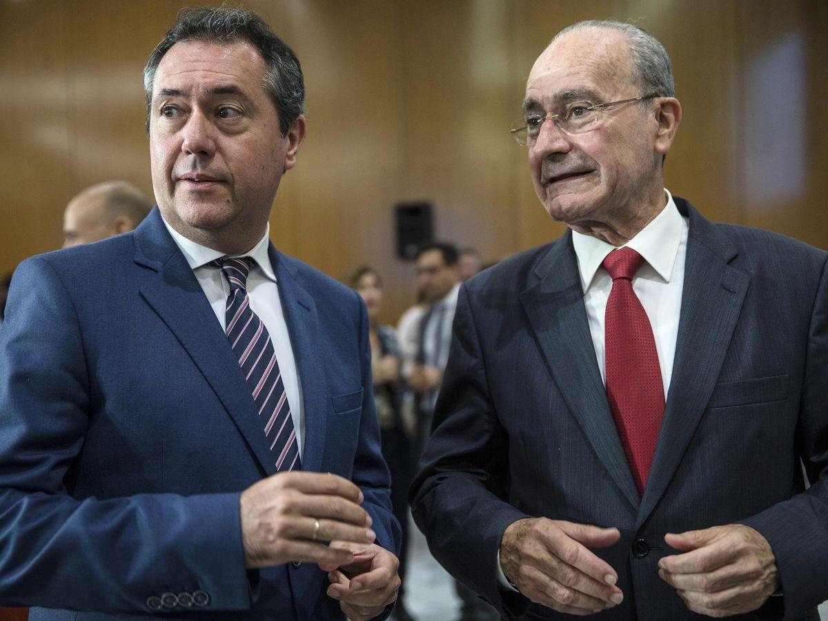 Foto: Juan Espadas y De la Torre, en una imagen de archivo. (EFE)