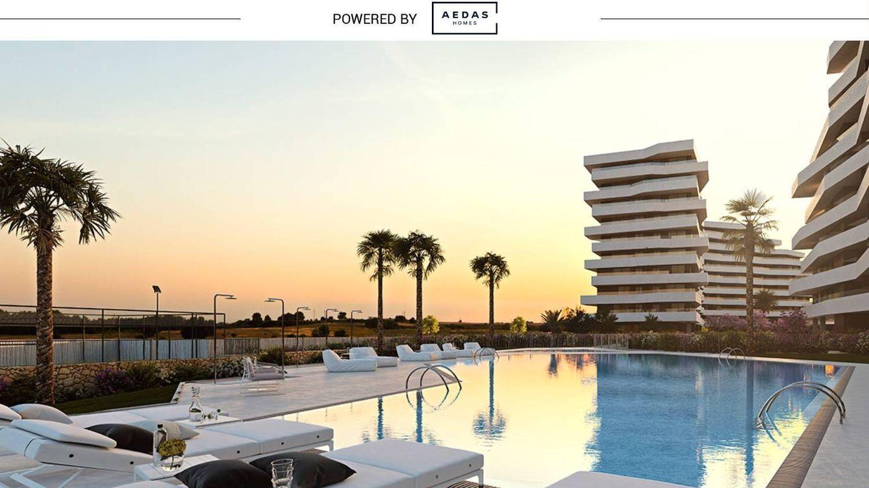 Foto:  La promoción de Azara, donde destacan las zonas comunes a disposición de los propietarios: piscina, carril de nado, gimnasio, sauna, jacuzzi, solárium...