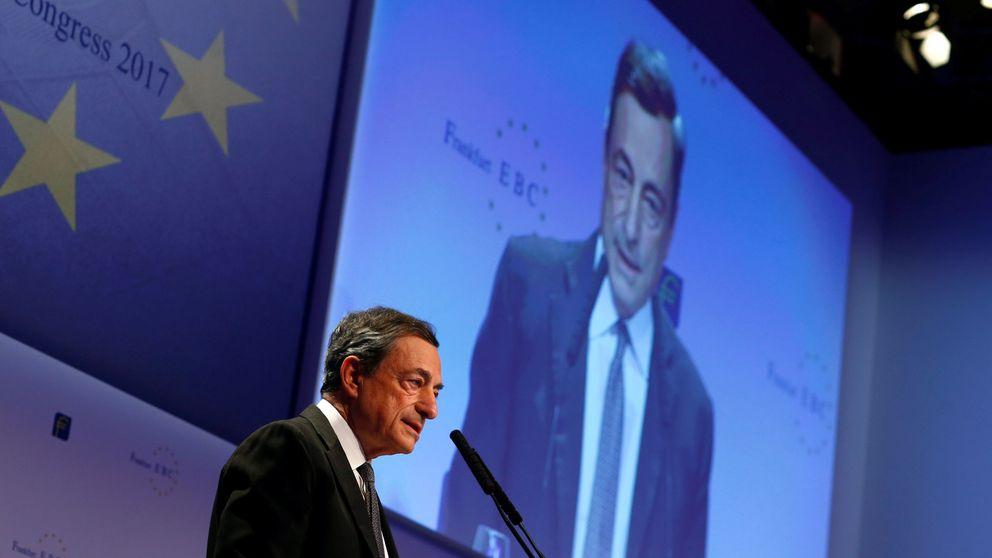 Draghi defiende la política monetaria del BCE: No está dañando a los bancos