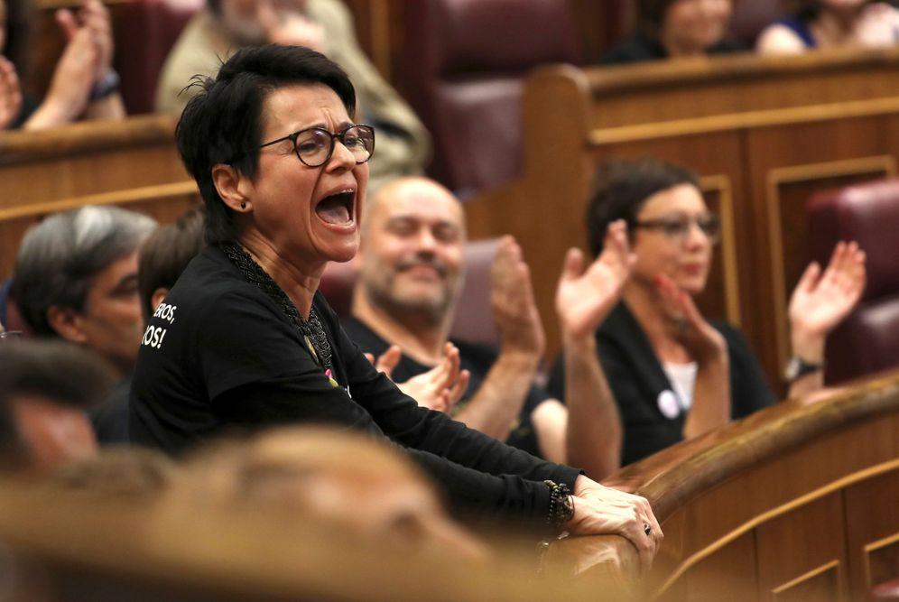 Foto: Ayer, en la sesión constitutiva de las Cortes Generales. (Bal/EFE)