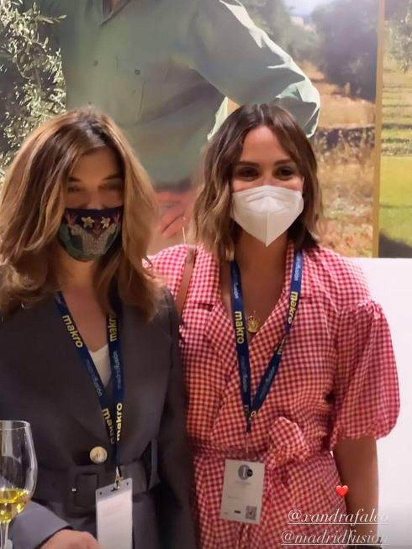 Xandra y Tamara Falcó, en Madrid Fusión. (Redes)