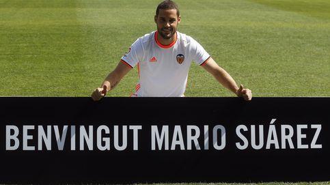 El Valencia presenta a Mario Suárez: Ojalá pueda estar aquí muchos años