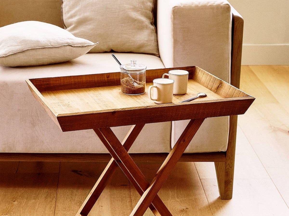 Foto: Consigue la mesa auxiliar perfecta en Zara Home. (Cortesía)