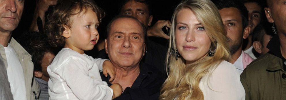 Foto: Silvio Berlusconi 'se venga' de su hija Bárbara