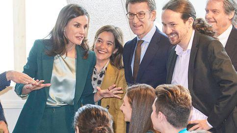 Los entresijos (y el buen rollo) del esperado encuentro de la reina Letizia y Pablo Iglesias
